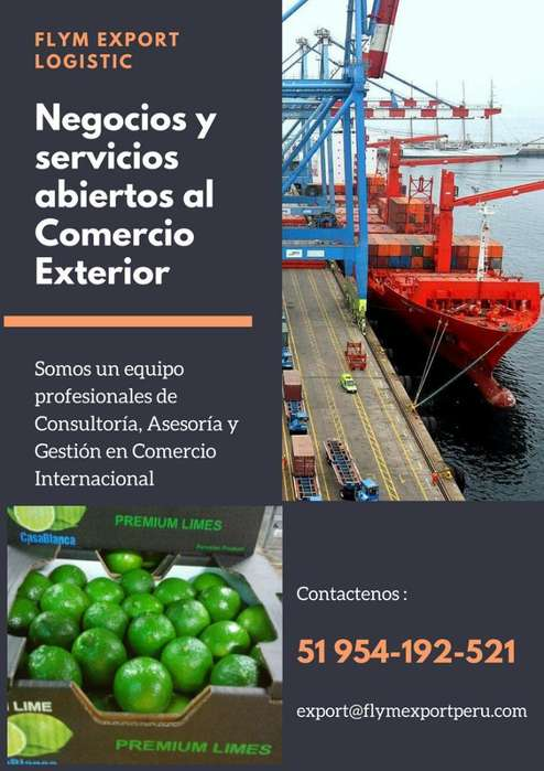 Servicio Logistico Comercial para Export
