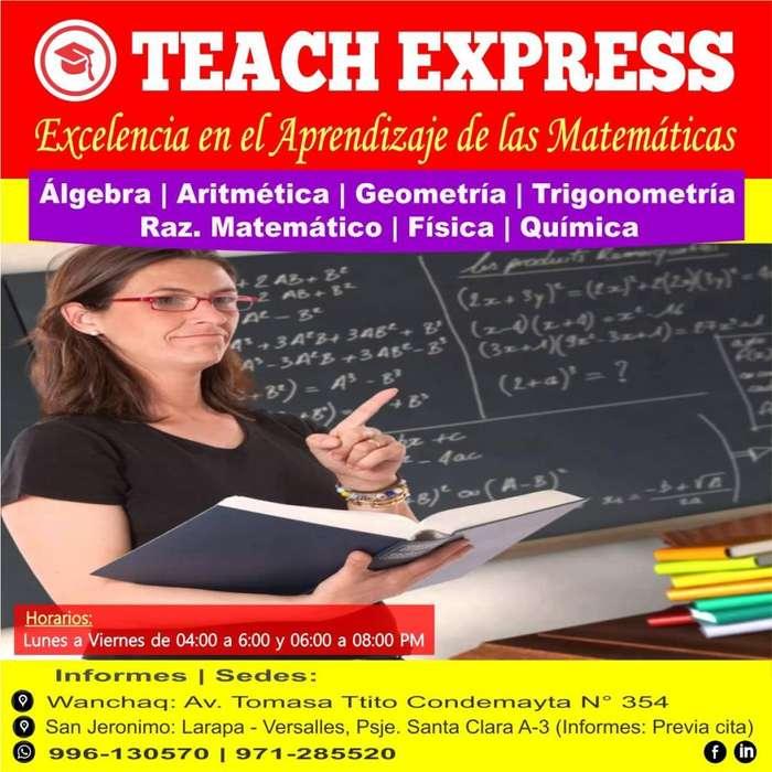 Clases de Matemáticas - Física - Química