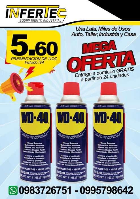 Aceite wd 40 11oz