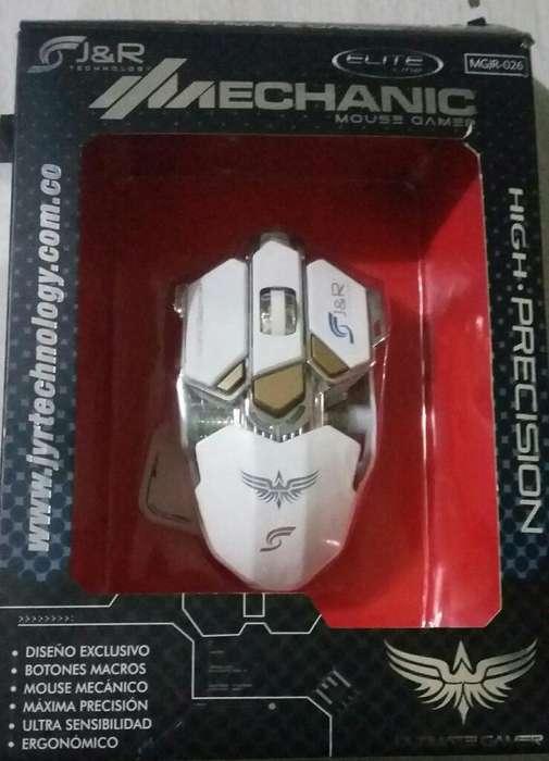 Vendo Mouse Gamer Mecanico Y Alfombrilla