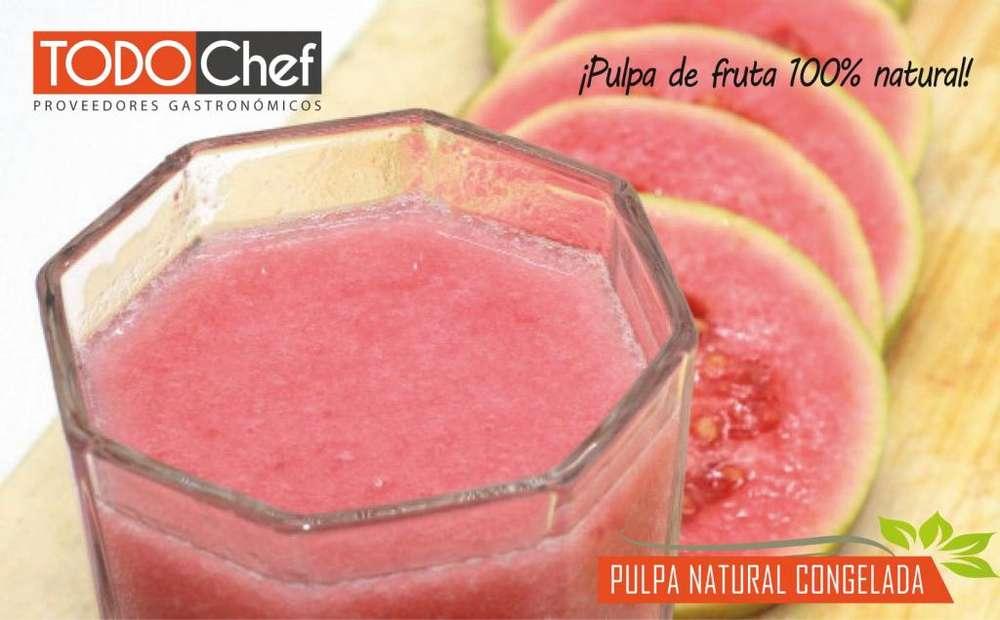 Pulpa de Fruta Congelada