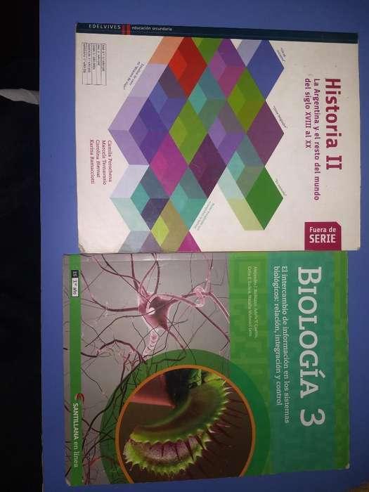 Libros de Historia Y Biología