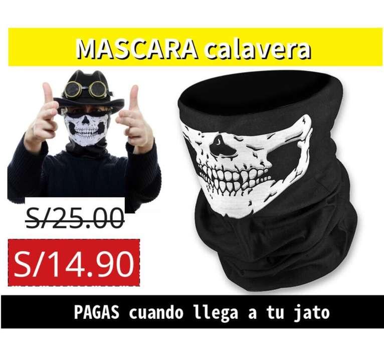 Máscara Calavera para Motos