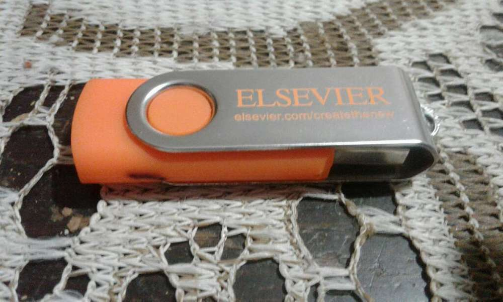 PenDrive USB <strong>memoria</strong> Flash 4GB ELSEVIER