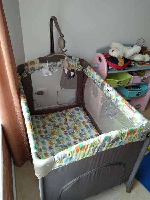 Cuna para Bebe Portátil