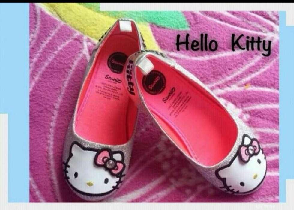 Preciosas Baletas Nuevas Hello Kitty