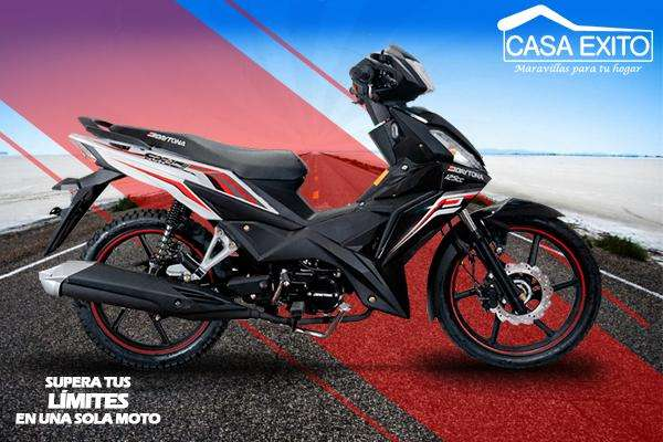 Moto Daytona Dy125 Cx7 125cc Año 2019 Color Negro / Rojo / Blanco Casa Éxito