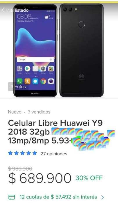 Célular Huawei Y9 2018