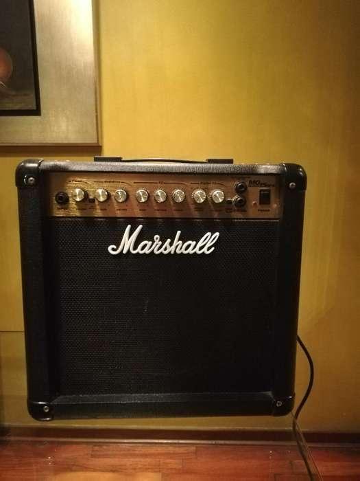 Amplificador Marshall Mg 15dfx
