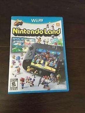 Nintendo Land Wii U 1 Semana De Uso
