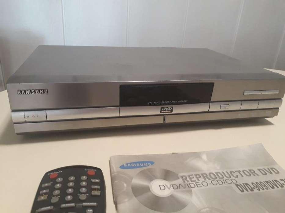 Samsung DVD709 reproductor de DVD perfecto estado SOLO LLAMADAS 1161910022