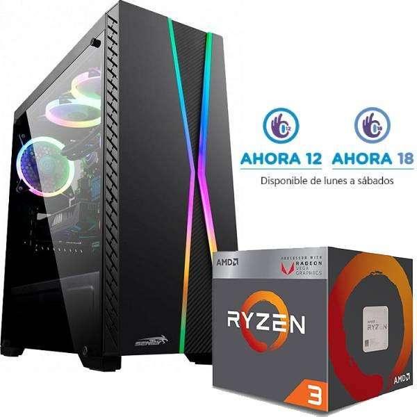 Pc Gamer Ryzen 3 3200G RAM 2X4GB SSD 240GB