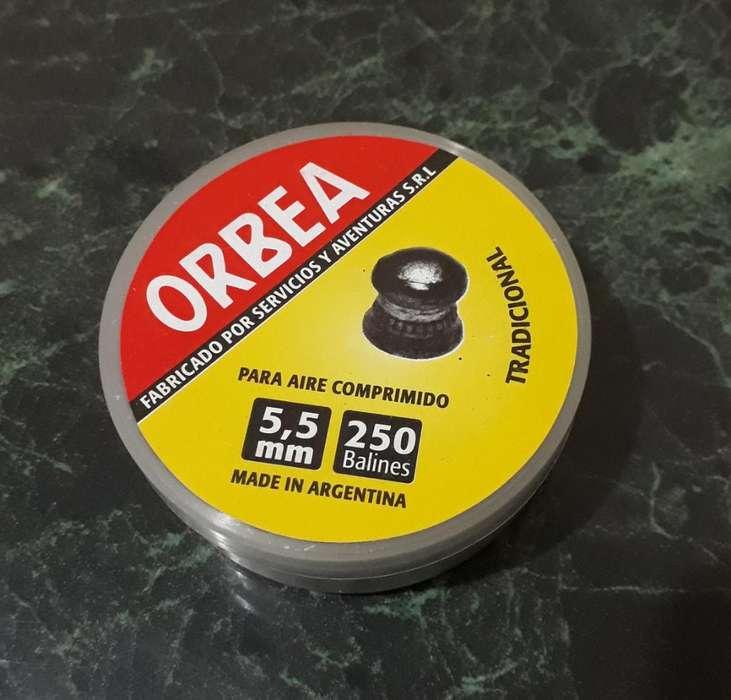 Balines Orbea 5.5 para Aire Comprimido