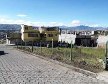 VENTA DE TERRENO ESQUINERO, AREA 391,85 M2, PARROQUIA DE CHILLOGALLO, SECTOR EL TRANSITO, BARRIO EL PORVENIR