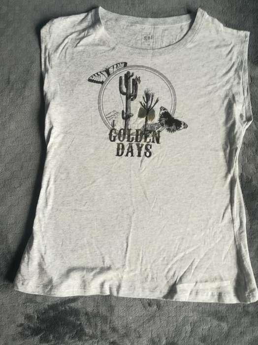 Camiseta sin Mangas Talla M
