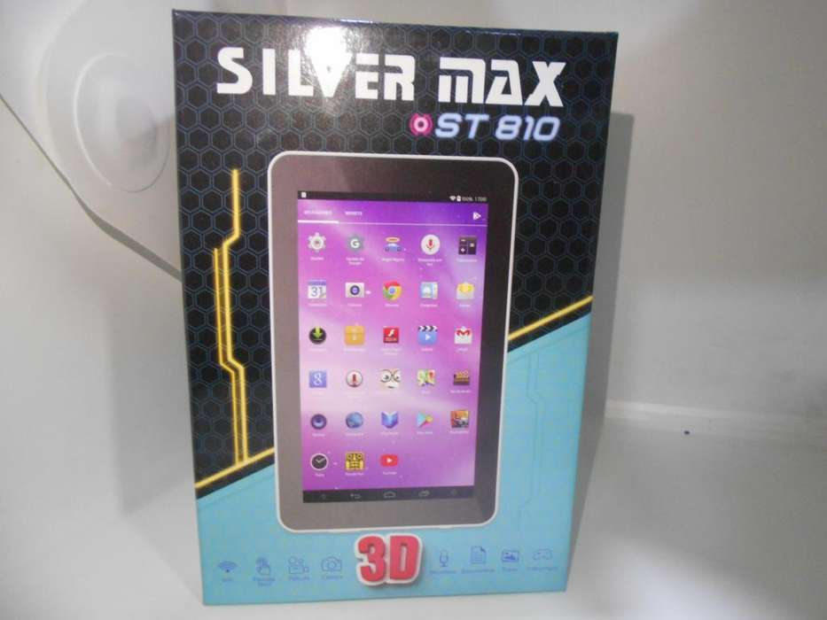 Tablet Silver Max St 810