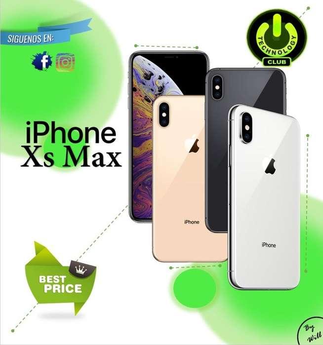 Xs Max Iphone notch 6.5 pulgadas pantalla / Tienda física Centro de Trujillo / Celulares sellados Garantia 12 Meses