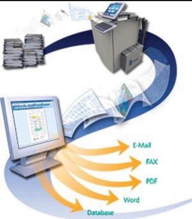 Digitalización Transcripción de Document