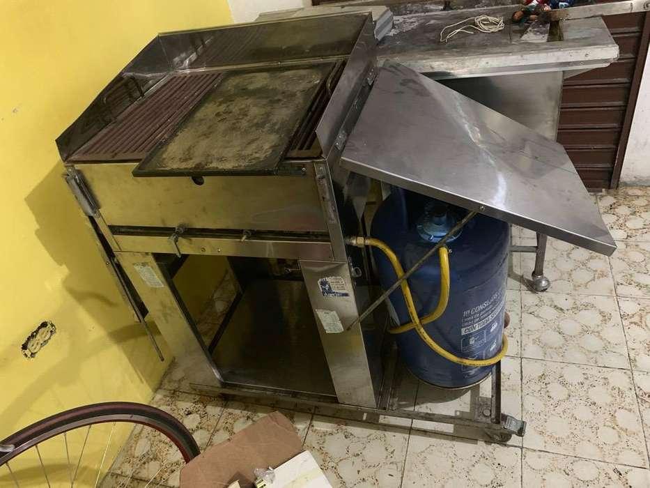 Se Vende Asador a Gas en acero
