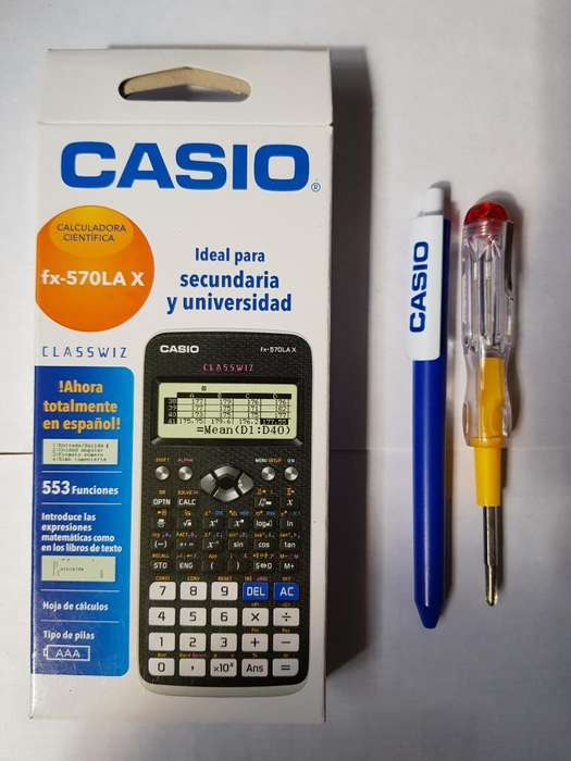 <strong>calculadora</strong> Nueva Casio 570lax