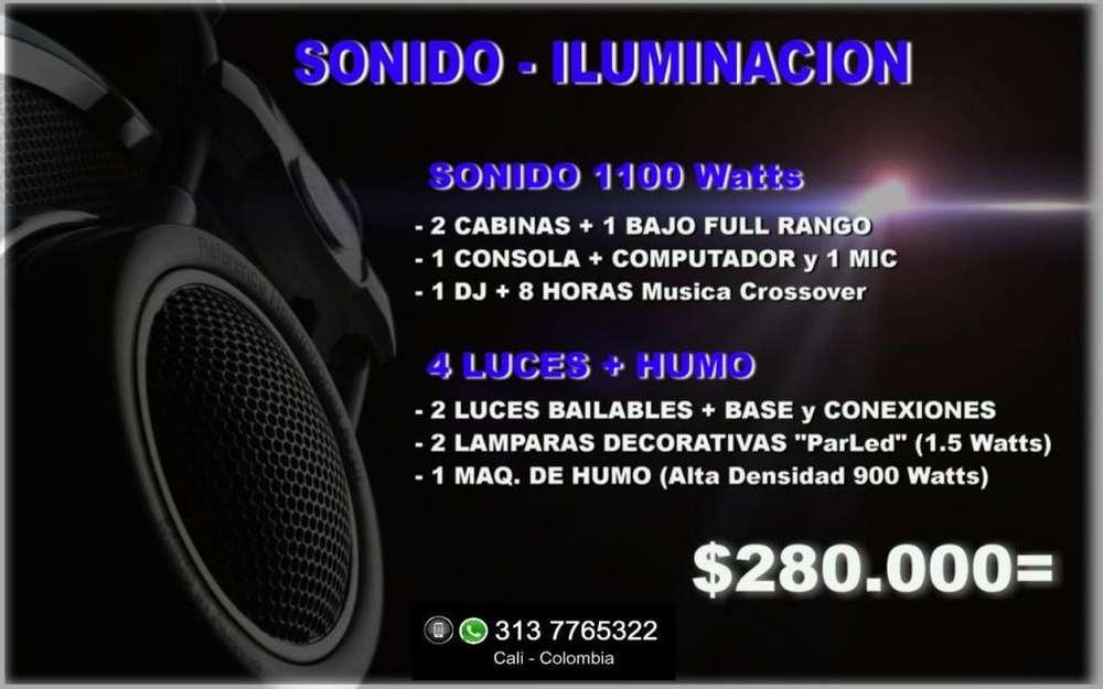 Cali. ALQUILER LUCES SONIDO DJ FIESTA MATRIMONIO MUSICOS CUMPLEAÑOS