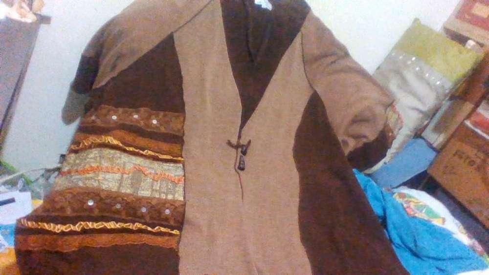 Saco artesanal en lana bremer tipo spolverino