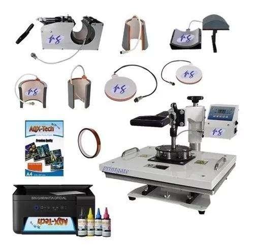 <strong>impresora</strong> Epson Con Sistema De Sublimacion Estampadora 8 En 1 33x43 Cm - Mejor Que 38 X 38 Cm