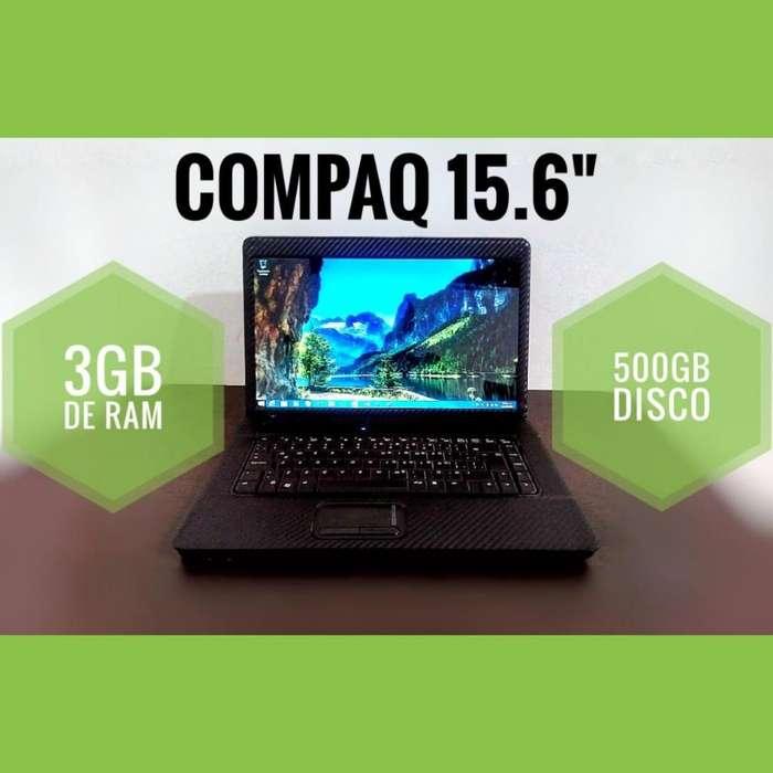 PORTÁTIL CORE 2 DUO 500GB DD 3GB RAM 15.6 PULGADAS