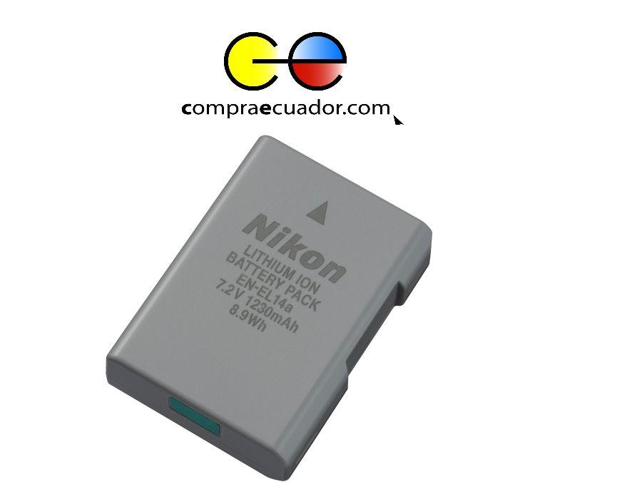 NIKON EN EL14 Repuesto de Batería Cámara Profesional Nuevo
