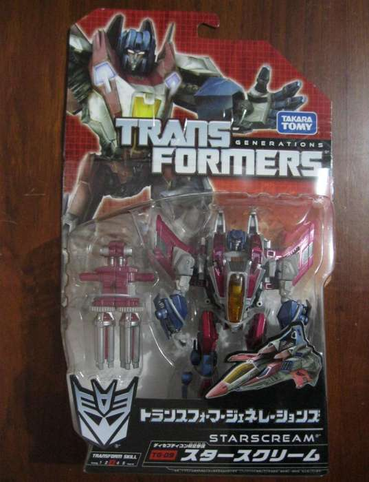 Transformers Starscream Tg09 Deluxe