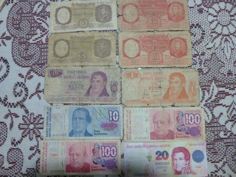 Billetes Antiguos Nacionales,Brasileños y extranjeros