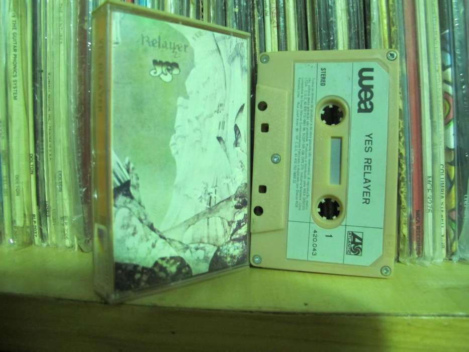 Yes -– Relayer - Cassette BRA