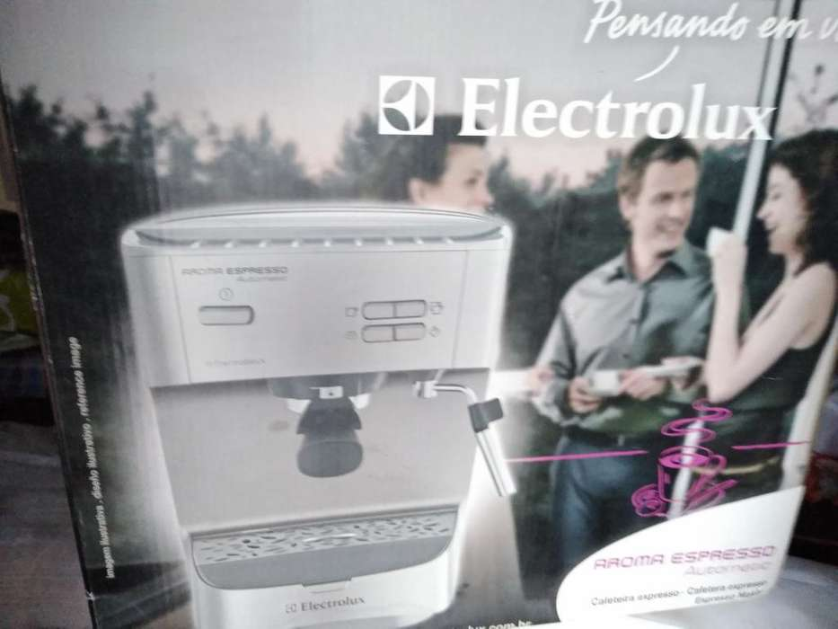 <strong>cafetera</strong> Express Electrolux