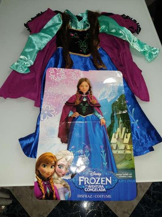 Disfraz de Ana Frozen Niña 6 Años