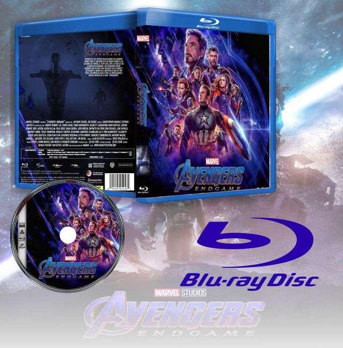 Pelicula Avengers Endgame extras Blu-Ray full