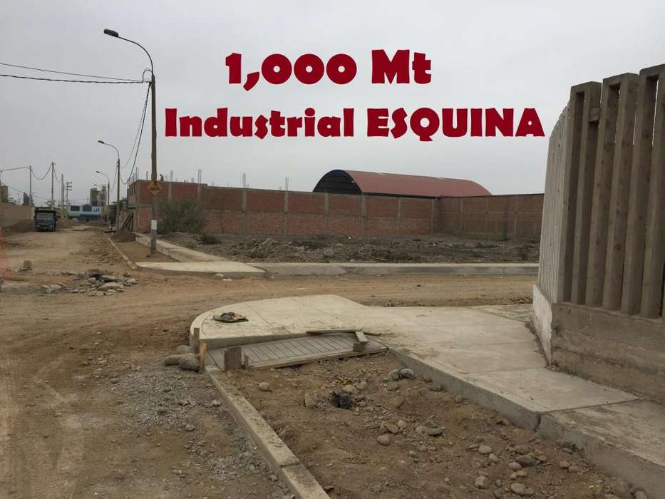 TITULO Pista Vereda INDUSTRIAL 1,000Mt ESQUINA 219