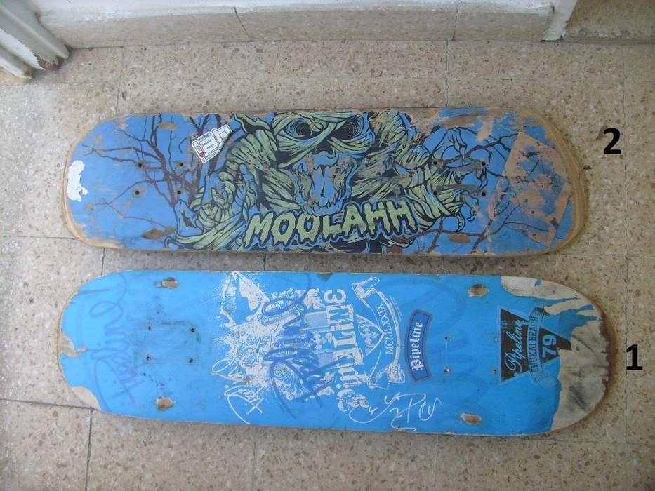 Tablas de Skate 2X1 Moolahaa y Pipeline