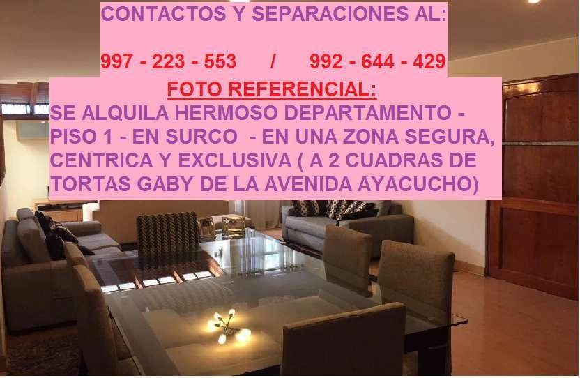 Alquiler de departamentos y habitaciones en Surco