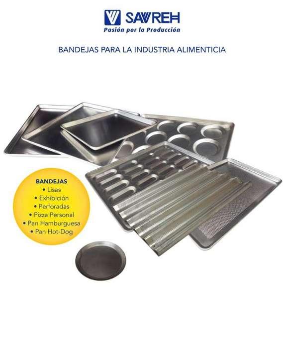 BANDEJAS DE ALUMINIO PARA PANADERIA