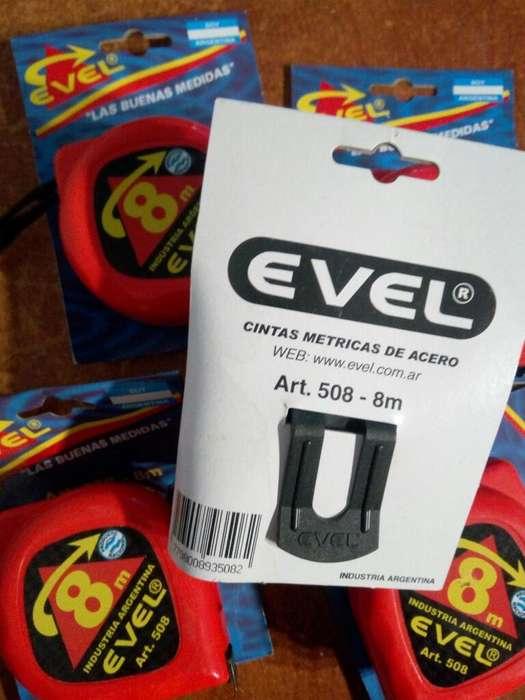 Cinta Métrica 8 Mts Evel
