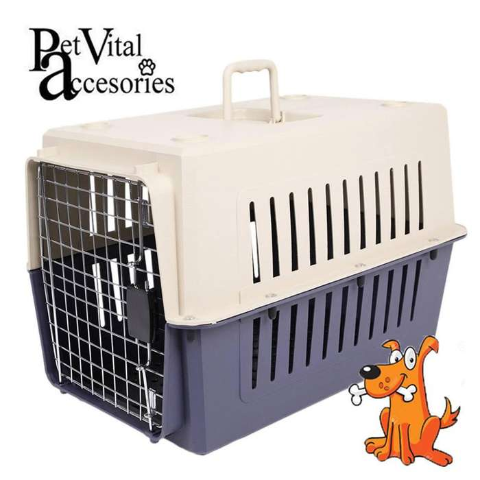 KENNEL CANIL PARA PERRO/ GATOS TRANSPORTADOR DESMONTABLE POR TALLAS EN PET VITAL