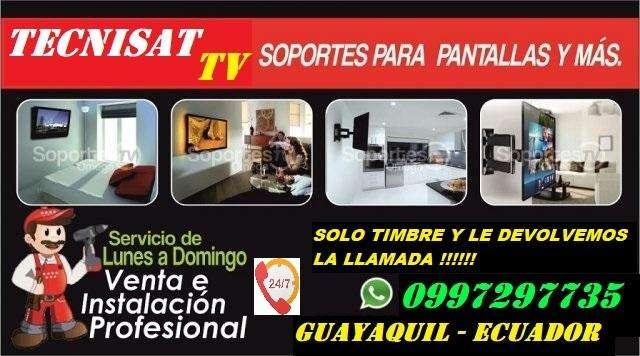 Instalacion y Venta de Soportes para Tv Led Lcd Curve Plasma Instalador REPISAS