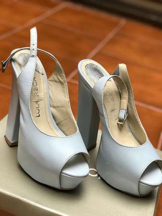 Zapato de <strong>mujer</strong> Celeste