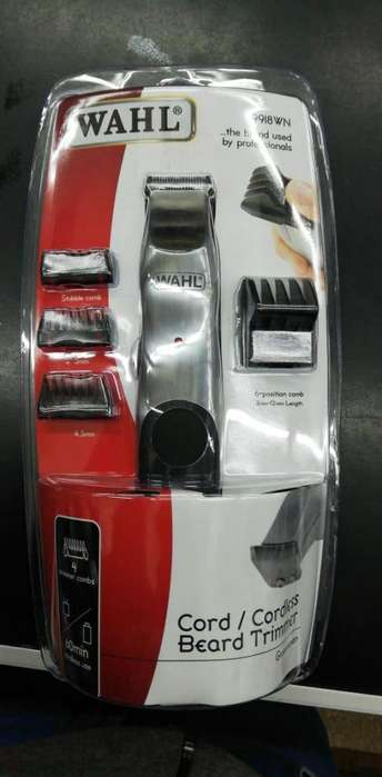 Wahl Groomsman Profesional Trimmer Barba, Patillas, Bigotes