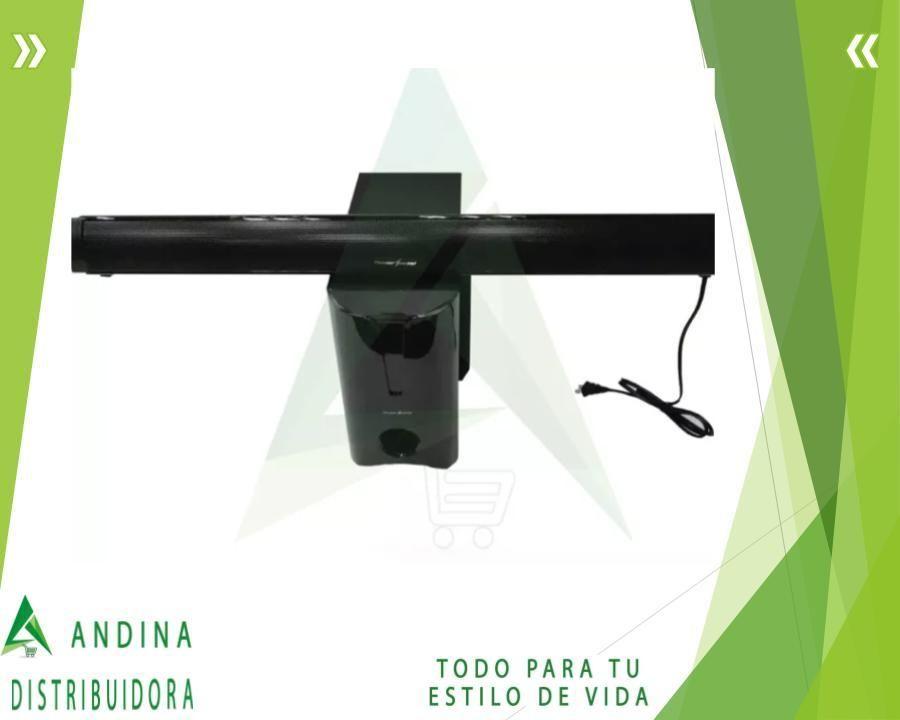 Bajo  Barra De Sonido Thundersound Tv Bluetooth 300 Rms Usb