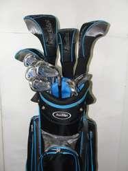 Juego Nuevo Completo de Golf 12 Palos