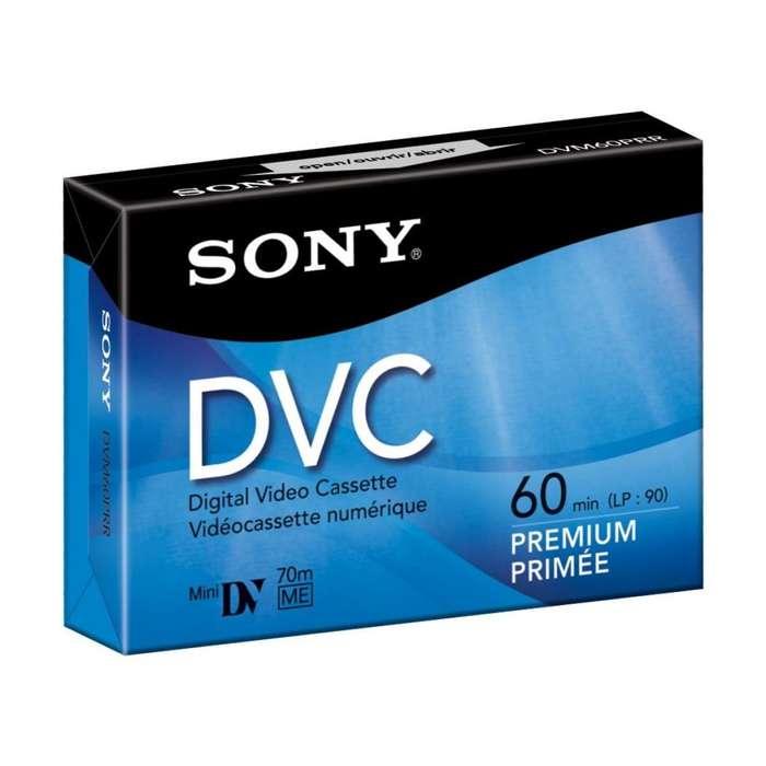 Lote De 15 Video Casette Sony Mini Dvc-60 Ganga!!