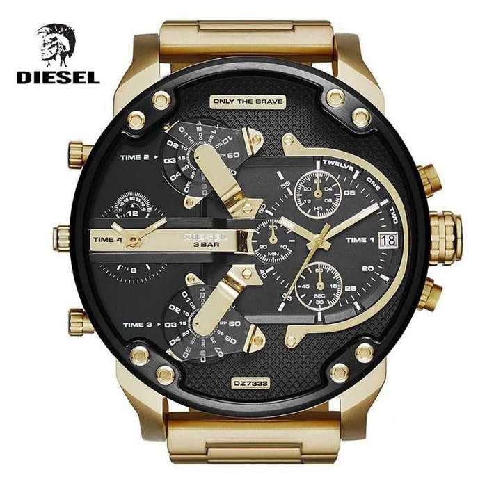Reloj Diesel Dz7333 Mr. Daddy - 100% Nuevo Y Original