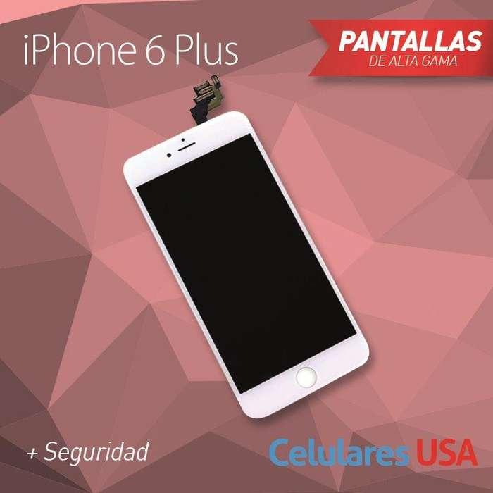 Pantalla Completa Iphone 6s Plus Blanca / Tienda San Borja. Garantía.