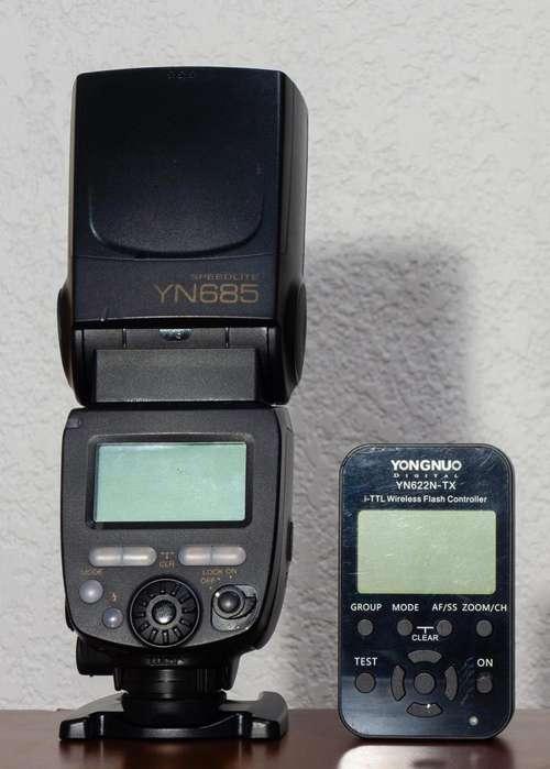 Flash Yongnuo YN685 TTL y HSS Controlador YN622N-TX para Nikon